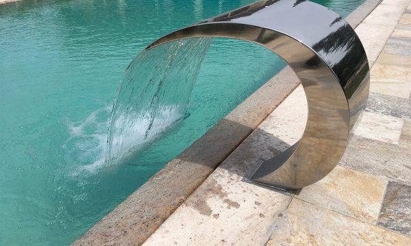 lama d'acqua per piscina