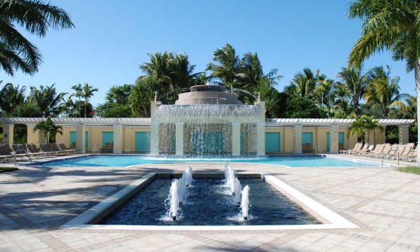 giochi d'acqua e fontane
