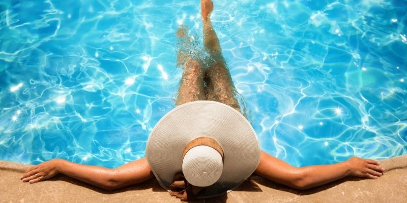 weekend in piscina